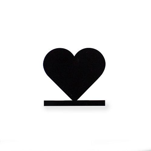 Silhouette für Bilderleiste Motiv Herz