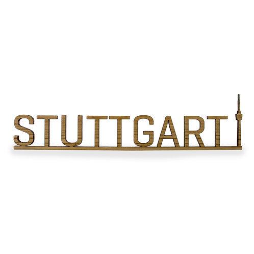 Schriftzug M - Stuttgart Fernsehturm