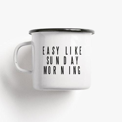 Tasse Sunday Morning TYPEALIVE