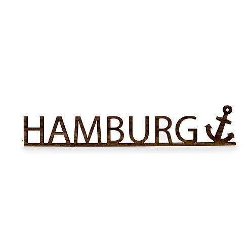 Schriftzug M - Hamburg