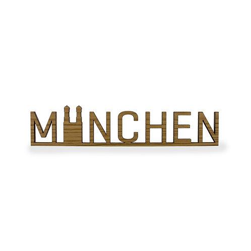 Schriftzug M - München
