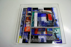Bookcase small in plexiglass