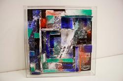 bookcase in plexi glass