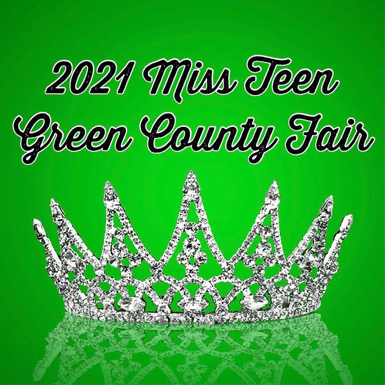 Miss Teen Green County Fair (13-15 yrs)