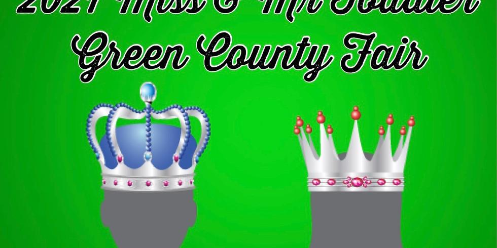 Miss & Mr Toddler Green County Fair (12-36 months)