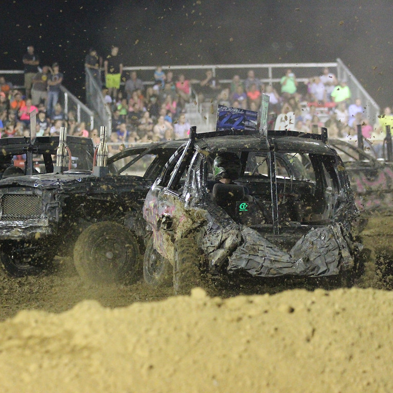 Demolition Derby & Fireworks