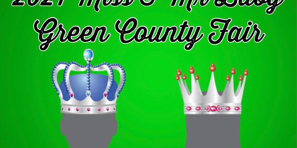 Miss & Mr Baby Green County Fair (0-12 months)