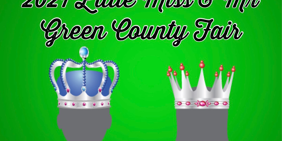 Little Miss & Mr Green County Fair (5-7 yrs couples)