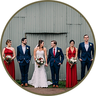 tamborine wedding at albert river wines vinage country customise bespoke