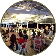 Tamborine House a pefect indoor outdoor reception option