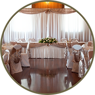 Auchenflower Ballroom is a grand reception option with high ceilings and wooden floors. A majestic barn