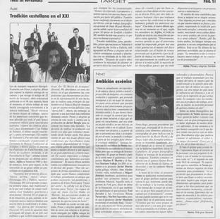 Tradición castellana en el XXI.