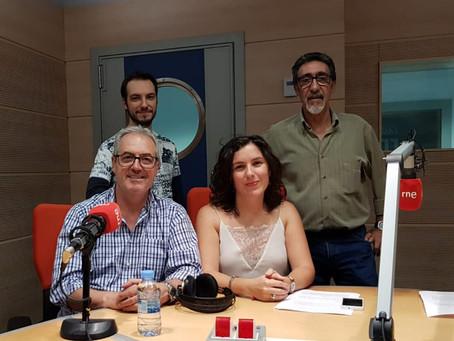 Aljibe presenta su disco en las principales emisoras de radio