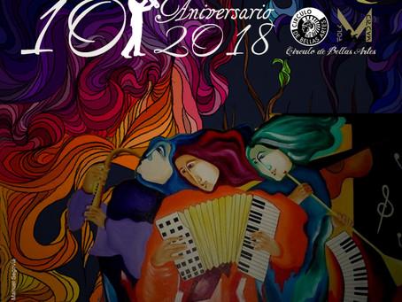 Aljibe presenta su nuevo disco en el Círculo de Bellas Artes de Madrid