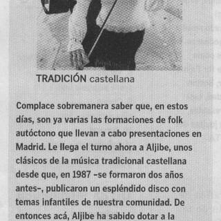 Tradición castellana.