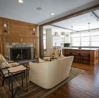 St Jean Residence Livingroom & Kitchen