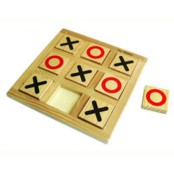 Fun Factory Wooden Noughts & Crosses