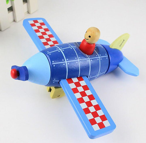 Janod Wooden Magnetic Plane