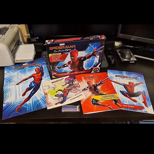 Spider-Man Colour & Activity Box