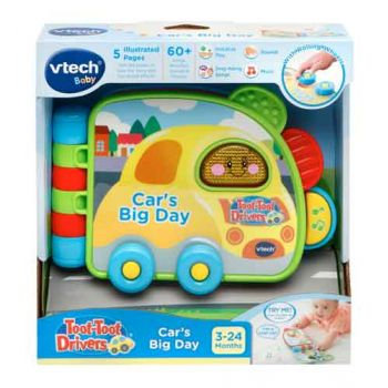 VTech Toot Toot Drivers - Car's Big Day Book