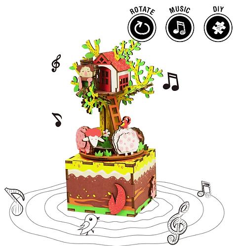 Musical Tree Music Box