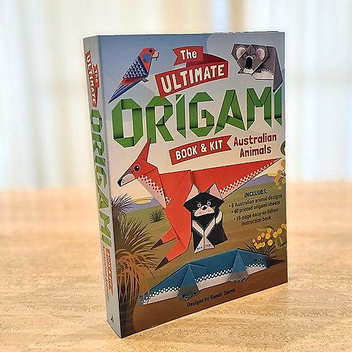 The Ultimate Origami Book & Kit Australian Animals