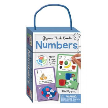 Jigsaw Flash Cards - Numbers