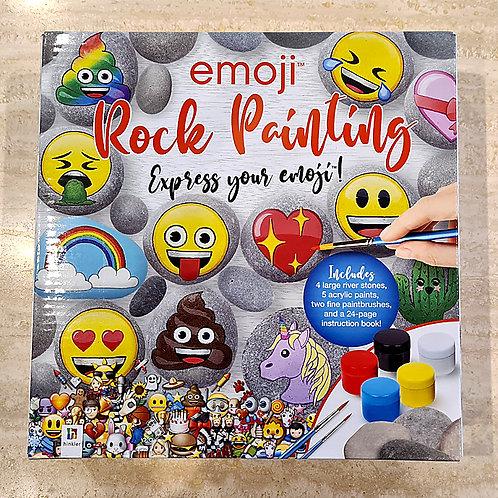 Emoji Rock Painting