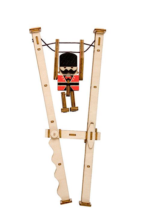 3D Wooden Jumping Guardian