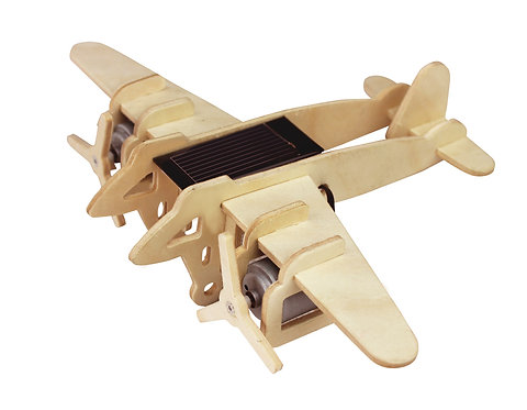 3D Solar Powered Bomber Plane Jigsaw