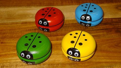 Wooden Ladybird Yo-yo