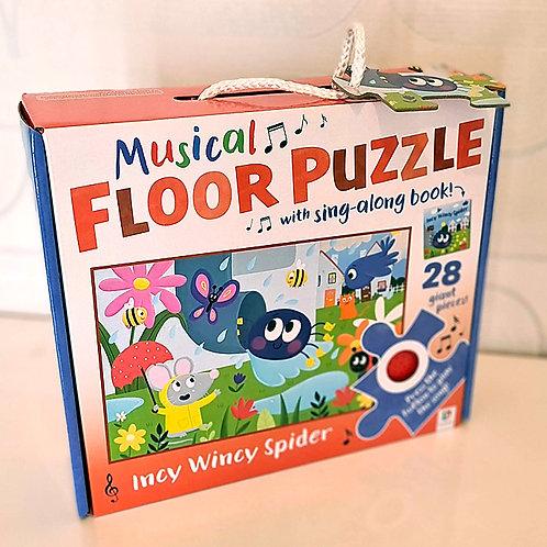 Musical Floor Puzzle Incy Wincy Spider