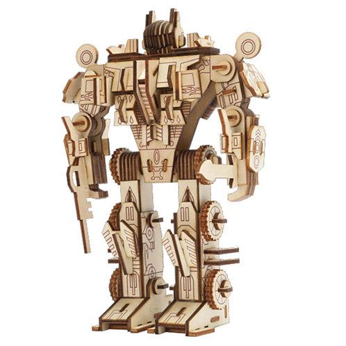 3D Wooden Puzzle Robot 1