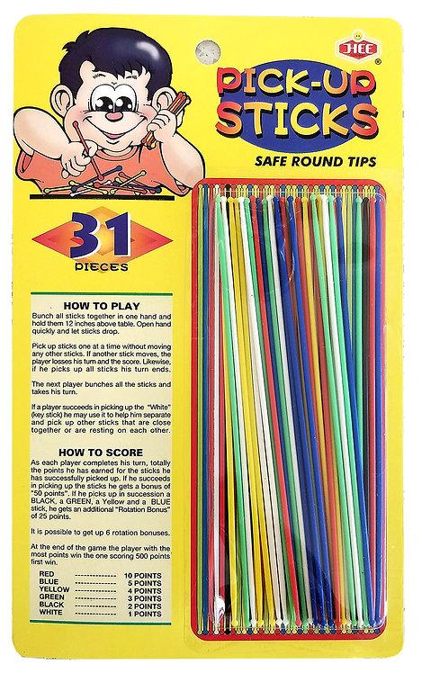 31 Pieces Pick-Up Sticks