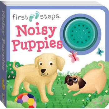 First Steps Noisy Puppies Sound Book