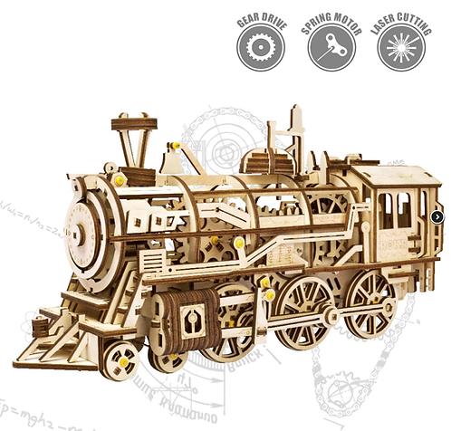 Robotime 3D Wooden Locomotive