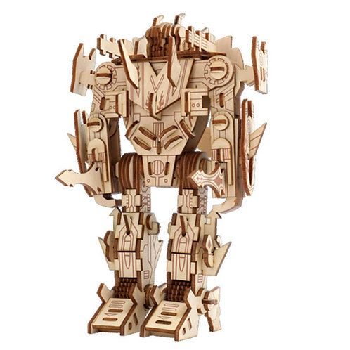 3D Wooden Puzzle Robot 2
