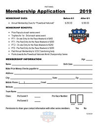 2019 Membership Application - ProTunnel