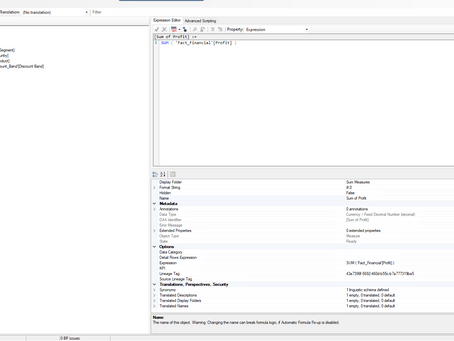 Time saving scripts in Tabular Editor