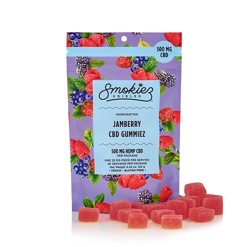 Jamberry CBD Gummiez - 500 Mg, 20 Piece