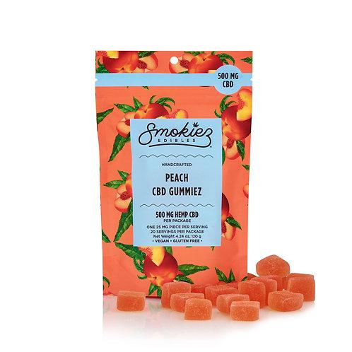 Peach CBD Gummiez - 500 Mg, 20 Piece