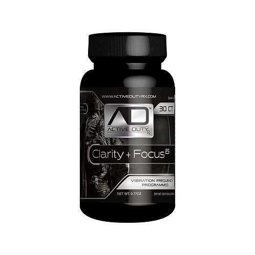 Active Duty RX Clarity & Focus ES 30 Capules