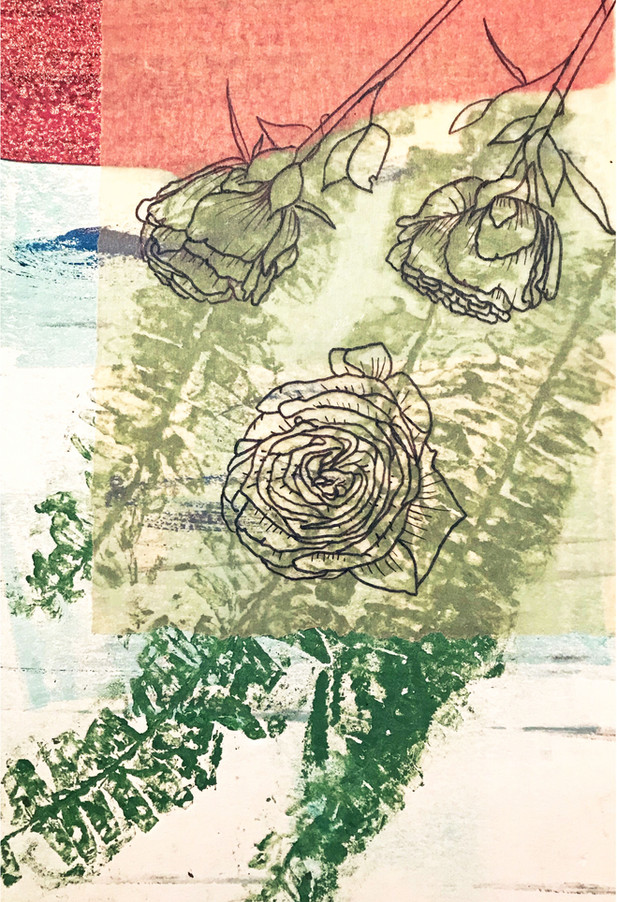 In the Garden Print #9
