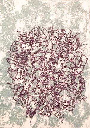 In the Garden Print #5