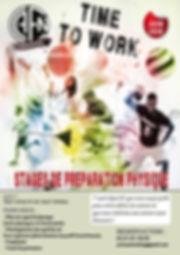 Stages préparation physique athlètes haut niveau