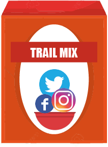 Social Media Trail Mix