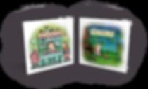 פיץ האוגר הזהוב ופטריות לארוחת הבוקר - ספרי ילדים
