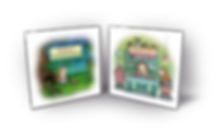 Teeny the Golden Hamster + Mushrooms for Breakfast - Children's books by Tammy Elinson