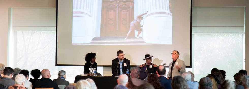 PANEL 2: La Tanya Autry (moderator), Dr. Robert Luckett, Nona Faustine, Dr. Dell Upton