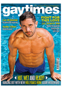 GayTimes Front Cover